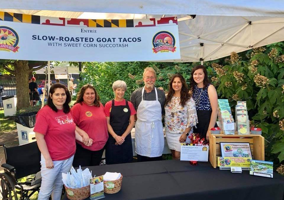 SMADC Featured at Maryland Governor's Buy Local Picnic